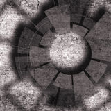 Technologia projekt z teksturą i techniką Fotografia Stock