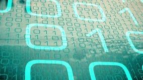 Technologia układ scalony, fi sieci cyber ochrona ilustracji