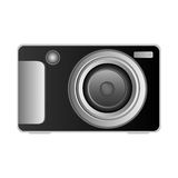 Technologic digital camera icon Stock Photos