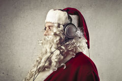 Technologic Santa Claus Stock Photo