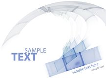 Technologic template Royalty Free Stock Image