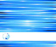 Technological blue colored banner royalty free stock photography