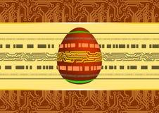 Technological Easter Egg Stock Photo