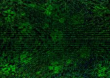 Green technological texture background illustartion royalty free illustration