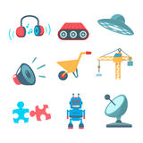 Technological icons Royalty Free Stock Photography