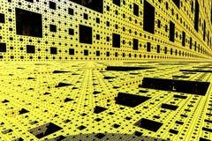 Technological modern block background Stock Photography