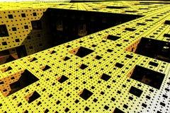 Technological modern block background Stock Image