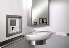Technological toilet Stock Images