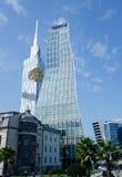 Technological University Tower and  Radisson Blu hotel in Batumi,Georgia Stock Photo