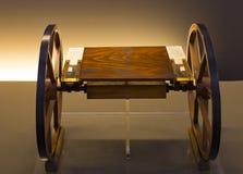 Technologiczny Techniczny muzeum wymieniający po Leonardo Da Vinci działu, ekspozycji modele przyrząda i technicznego inventi, obrazy stock