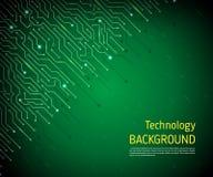 Technologiczny wektorowy tło Obraz Stock