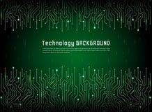 Technologiczny wektorowy tło Zdjęcia Stock