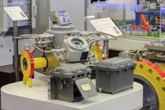 Technologiczny wyposażenie dla przemysłu gazowego Obrazy Royalty Free