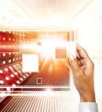 Technologieën van de toekomst stock foto's