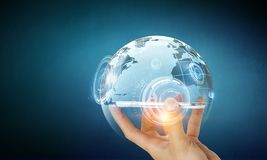 Technologieën voor globale mededeling Royalty-vrije Stock Foto's