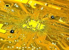 Technologie électronique Photographie stock