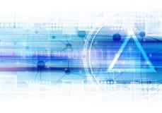 technologie électronique d'illustration de fond Photos stock