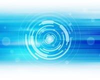 Technologie Abstracte Achtergrond Stock Afbeeldingen