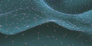 Technologie abstraite de la Science de fond Photo libre de droits