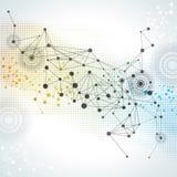 Technologie-abstrakter Hintergrund Stockbilder