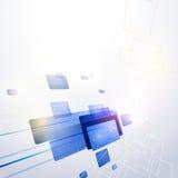 Technologie-abstrakter Hintergrund Lizenzfreies Stockbild