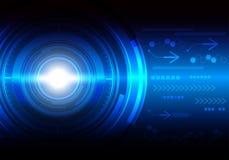 Technologie-abstrakter Hintergrund Stockbild