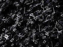 Technologie-abstrakter Hintergrund Digital-Konzept Lizenzfreies Stockbild