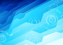 Technologie-Achtergrond Stock Illustratie