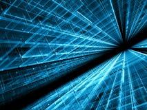Technologie-achtergrond - abstract digitaal geproduceerd beeld Stock Afbeelding