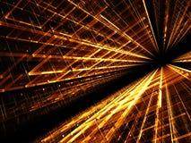 Technologie-achtergrond - abstract digitaal geproduceerd beeld Stock Fotografie