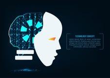 Technologie AI illustration stock