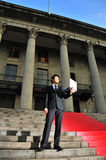 Technologie-ausgebufftes asiatisches Leitprogramm 3 lizenzfreie stockfotos