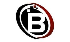 Technologie-Bewegungs-Synergie-Buchstabe B Lizenzfreie Stockfotografie
