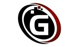 Technologie-Bewegungs-Synergie-Initiale G Stockfotos
