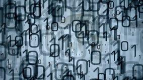 Technologie binair concept als achtergrond royalty-vrije illustratie