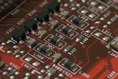 Technologie - carte graphique photos stock