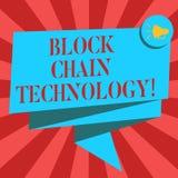 Technologie conceptuelle de chaîne de bloc d'apparence d'écriture de main Photo d'affaires présentant le registre de Digital stoc illustration de vecteur