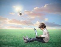 Technologie créatrice Photo stock
