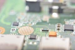 technologie d'À travers-trou Photo libre de droits