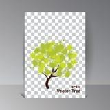 Technologie d'Eco Fond de conception d'écologie Illustration de vecteur illustration stock