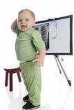 Technologie d'enfant en bas âge Image libre de droits