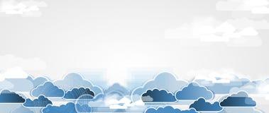 Technologie d'intégration avec la nature, ciel Les meilleures idées pour des affaires Images libres de droits