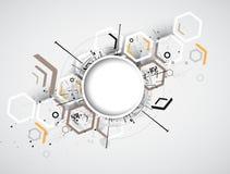 Technologie d'intégration et d'innovation illustration libre de droits