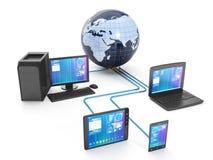 Technologie d'Internet Photos libres de droits