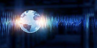 Technologie de bruit photo stock