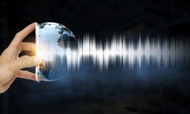 Technologie de bruit photos libres de droits
