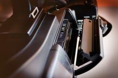 Technologie de caméscope de cassette de bande Photo libre de droits