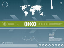 technologie de carte de fond illustration libre de droits