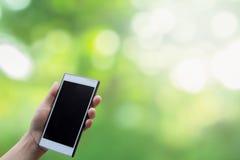 Technologie de communication mobile pour des communications sans fil Brouillage de fond naturel Photos stock