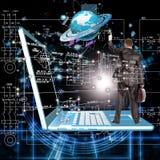 Technologie de connexion de sécurité Image libre de droits
